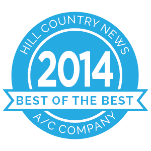 Hill Country News Best of the Best award 2014 badge.