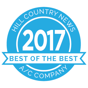 Hill Country News Best of the Best award 2017 badge.
