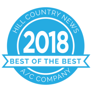 Hill Country News Best of the Best award 2018 badge.